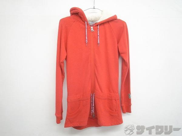 ジップパーカー GIRLS MELLANGE ZIP PARKA Sサイズ