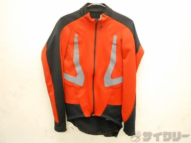 長袖ジャケット 冬用 0-12℃ Mサイズ レッド