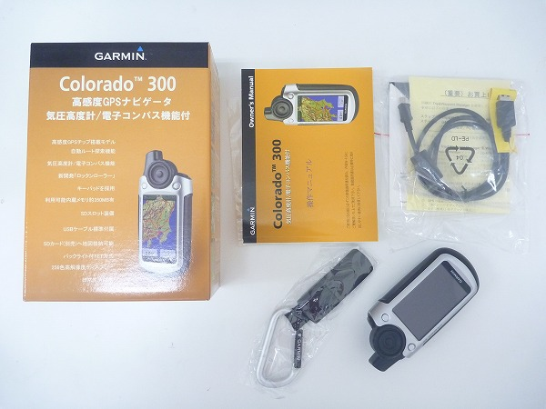 GPSナビゲーション Colorado 300 コロラド300 ※欠品あり、動作未確認