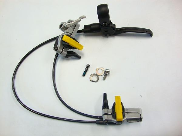 油圧リムブレーキ HS11 EVOLUTIONアダプタ付属 ボルト非純正