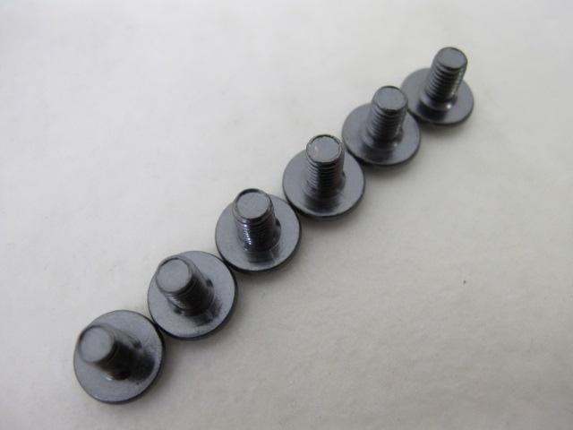クリートボルト 6本 ブラック