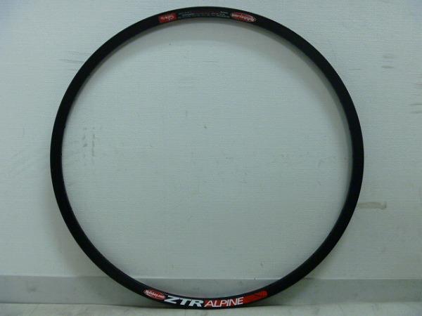 リム ZTR ALPINE 26インチ(559x20) 32H ブラック