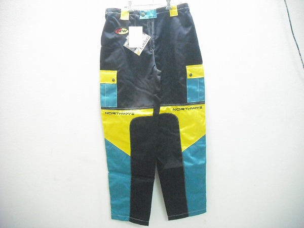 DHパンツ サイズ:36 ブラック/イエロー/グリーン