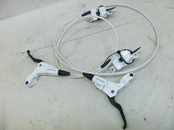 油圧ブレーキセット HORNET 700/1300mm ホワイト