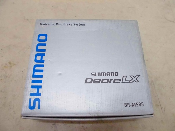 ブレーキ BR-M585/RT62 DEORE LX
