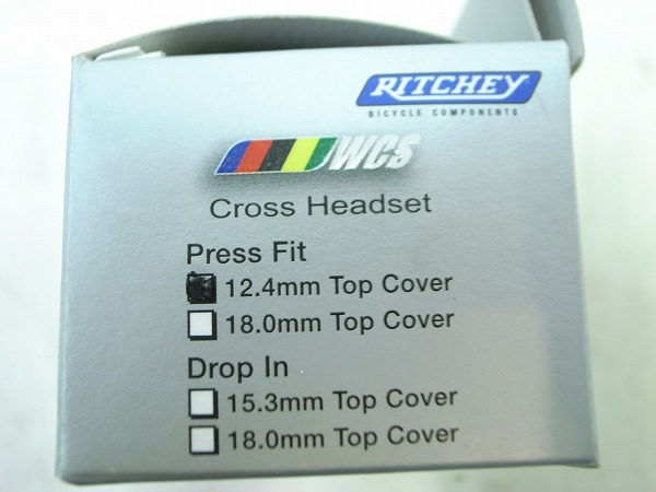 ヘッドセット WCS Cross Headset Press fit 12.4mm