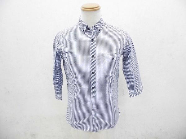 サイクリングシャツ 七部丈 レディース Sサイズ ブルー