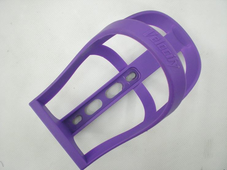 ボトルケージ 樹脂製 パープル