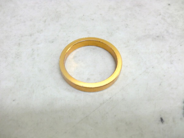 コラムスペーサー 5mm/28.6mm ゴールド