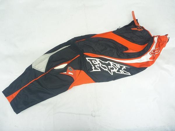 モトクロスパンツ 360 Racepants レッド/ブラック W28サイズ