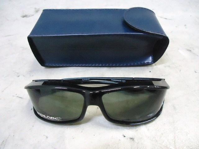 アイウェア 偏光オーバーグラス W412G ブラック
