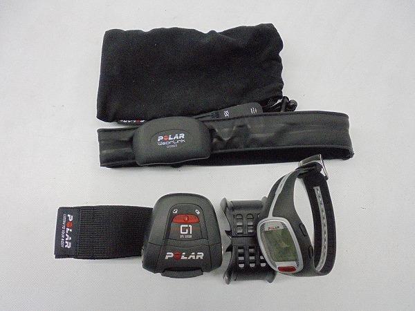 ハートレートモニター RS300X GPS ブラック ※動作確認済