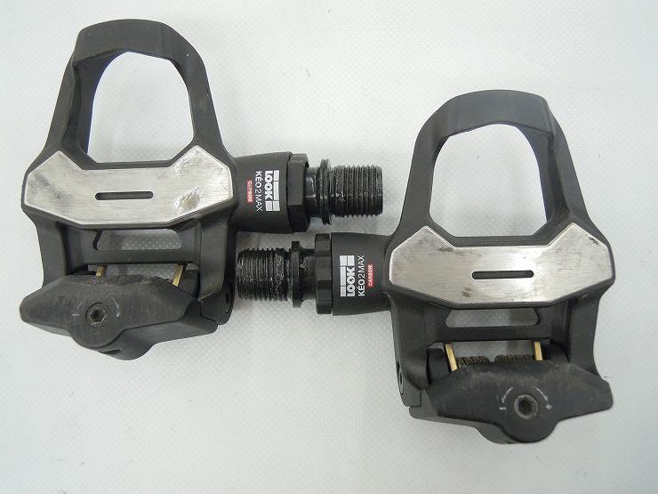 ビンディングペダル KEO2 MAX CARBON *左軸ガタ有り