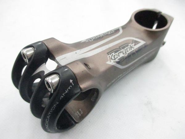 アヘッドステム Koryak 100mm/31.8mm/OS -10°
