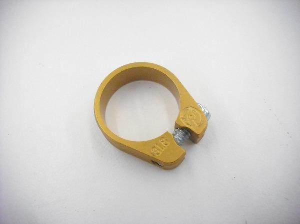 シートクランプ SLIMJIM 31.8mm ゴールド アルミ