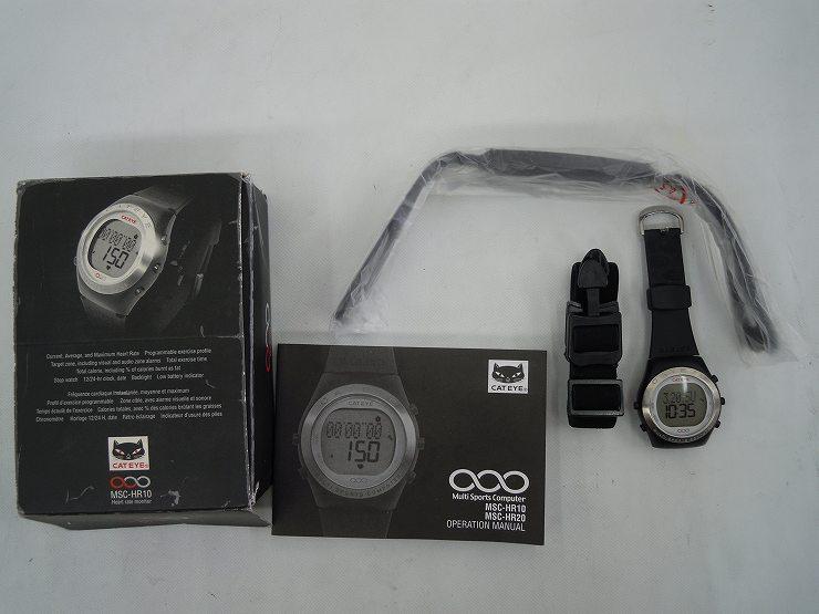 腕時計型ハートレートモニター MSC-HR10