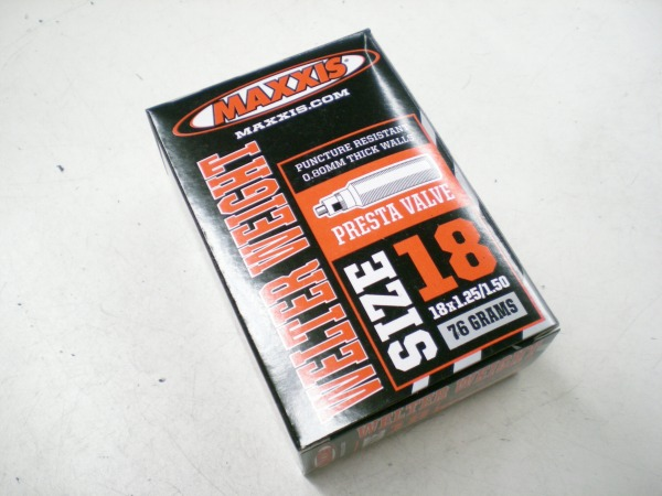 ウェルターウェイトチューブ 18×1.25/1.5 仏36mm