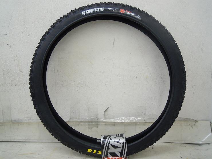 MTBタイヤ グリフィン 27.5×2.4 ワイヤー 3C マックスグリップ クリンチャー