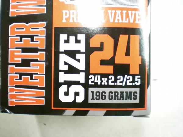 ウェルターウェイト チューブ 24×2.20/2.50 仏36mm