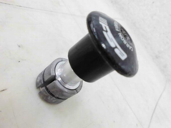 マルチプレッシャーアンカー OSカーボンコラム用 カーボンキャップ