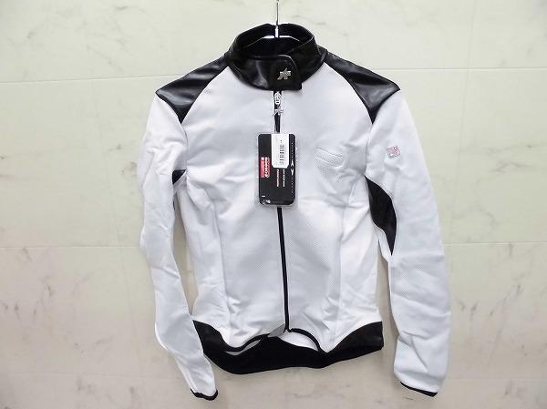 長袖フルジップジャケット UMAJACK サイズ:L レディース ホワイト