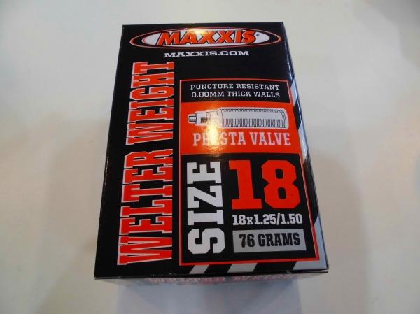 仏式チューブ 18x1.25/1.5 WELTER WEIGHT 36mm