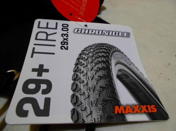 MTBタイヤ CHRONICLE 29x3.0 フォルダブル EXO クリンチャー