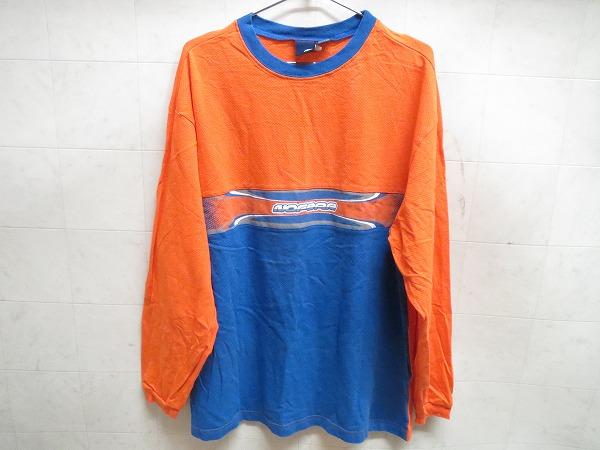 モトウェア オレンジ/ブルー XLサイズ