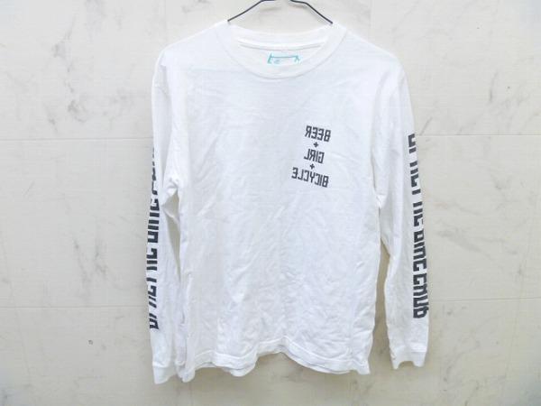 長袖Tシャツ ホワイト サイズ:S