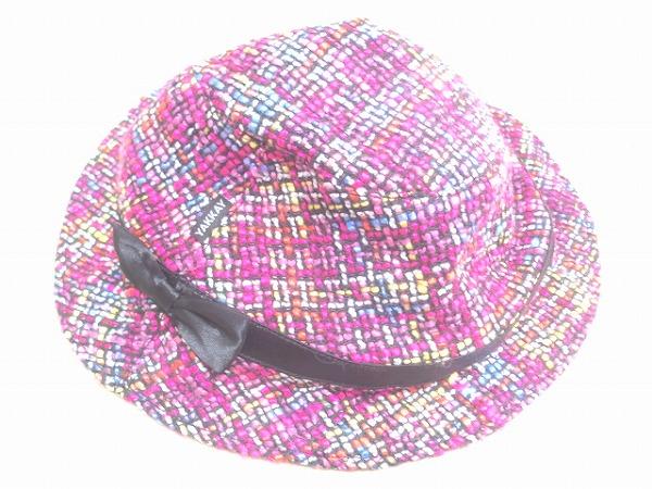 アウターヘルメットキャップ tokyo pink jazz Lサイズ ピンク柄