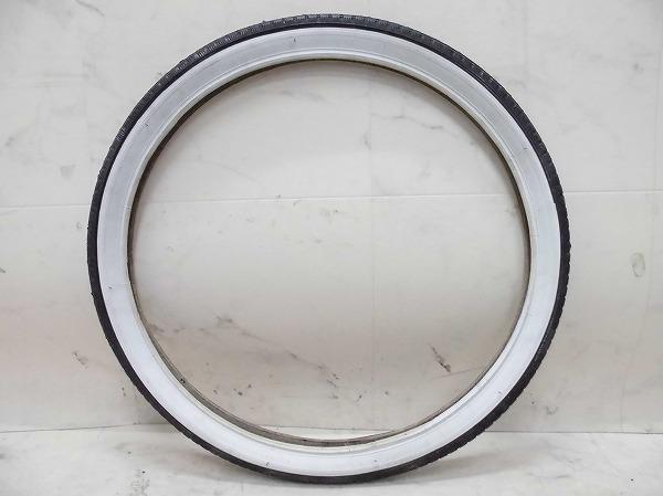 クリンチャータイヤ 22x1.75 ブラック/ホワイト