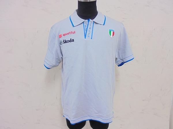 ポロシャツ ITALIA サイズ:L グレー