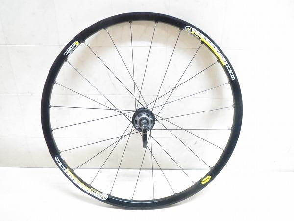 リアホイール CrossROC 26インチ チューブレス ブラック