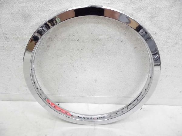 リム 20インチ SUPRA-Σ PRO 406×24 48H 米式 シルバー