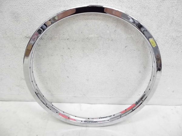 リム 20インチ SUPRA-G PRO 406×22 48H 米式 シルバー