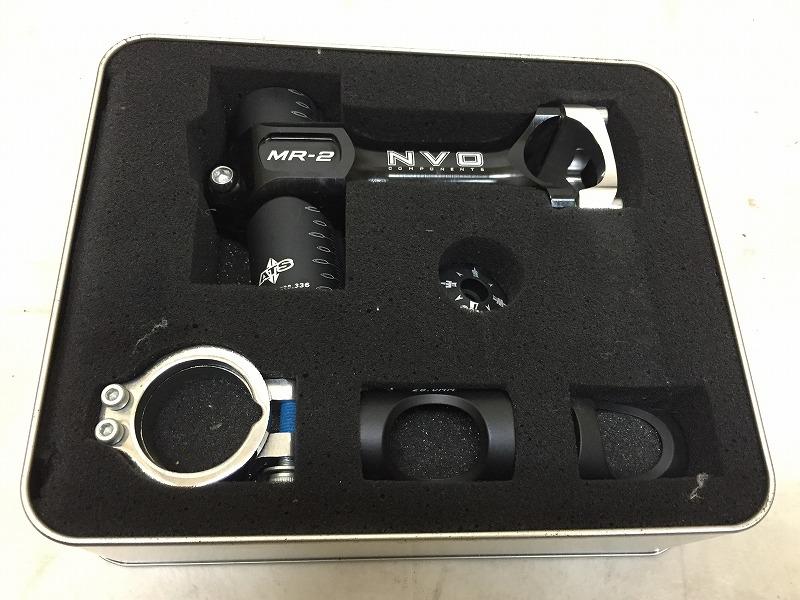 アヘッドステム MR-2 100/31.8/28.6mm ブラック