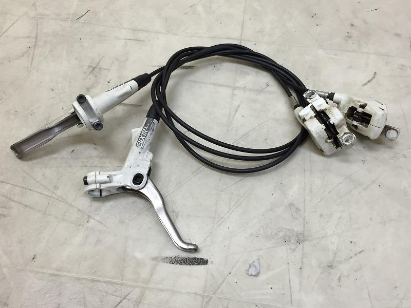 油圧ブレーキユニット ELIXER5 800mm/1350mm ホワイト