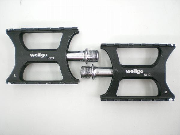フラットペダル R119
