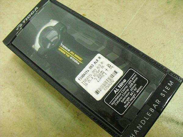 ステム AL9 60x25.4mm OS BLK