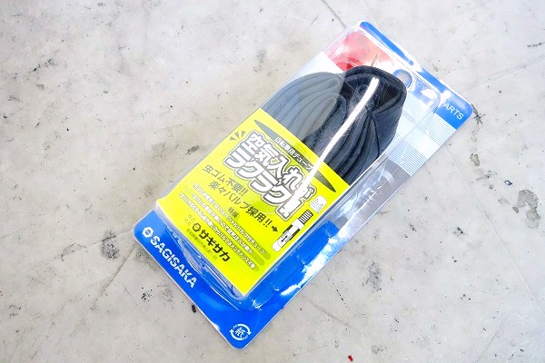 チューブ 20x1.5HE 英式 ブラック