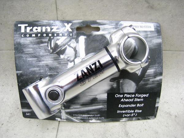 アヘッドステム ZANZI 115/25.4/28.6mm シルバー