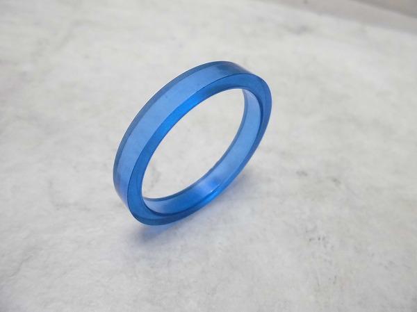 コラムスペーサー 5mm/OS 樹脂 ブルー