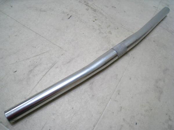 フラットバー 480/25.4mm アルミ シルバー