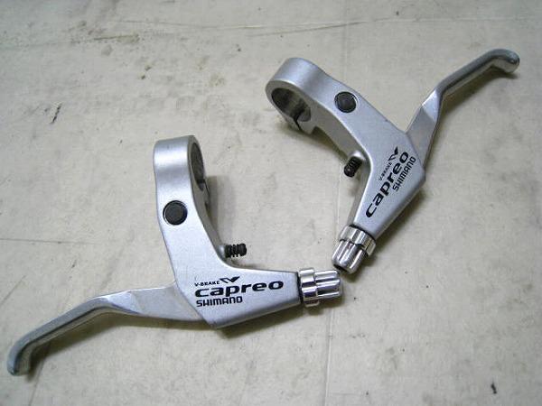 Vブレーキレバー BL-F700 CAPREO シルバー