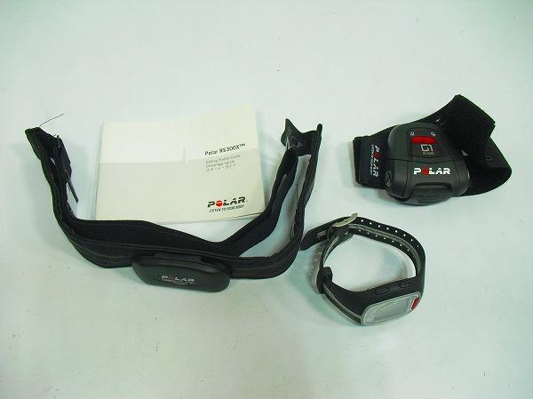 ハートレートモニター RS300X GPS G1センサー付属