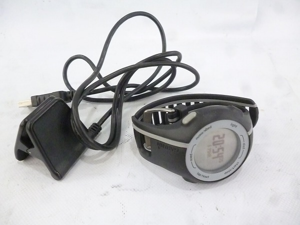 GPSウォッチ Forerunner110 ブラック/グレー ※バンド割れ