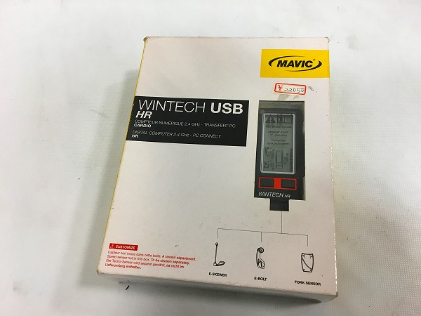 サイクルコンピューター WINTECH USB HR