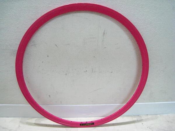 リム 700c 622x14c 32H クリンチャータイヤ 仏式 ピンク