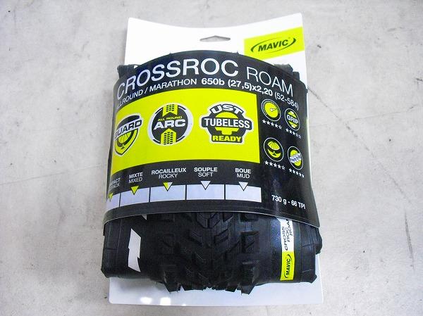 タイヤ CROSSROC ROAM 650bx2.20
