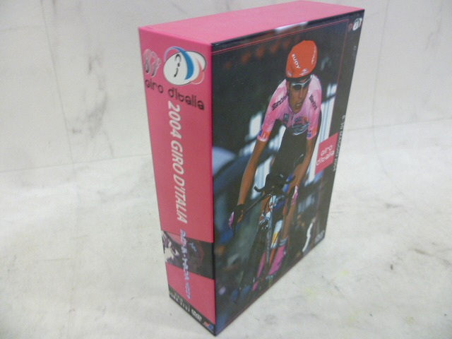 DVD ジロ・デ・イタリア 2004 3巻セット